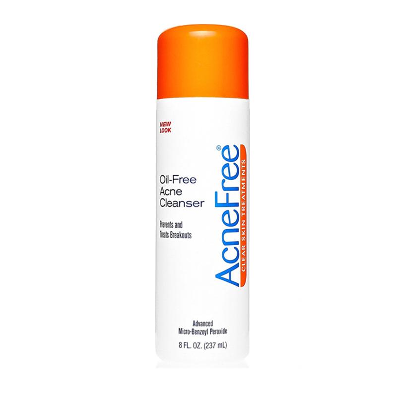Acnefree无油祛痘洁面含2.5%过氧化苯甲酰237ml
